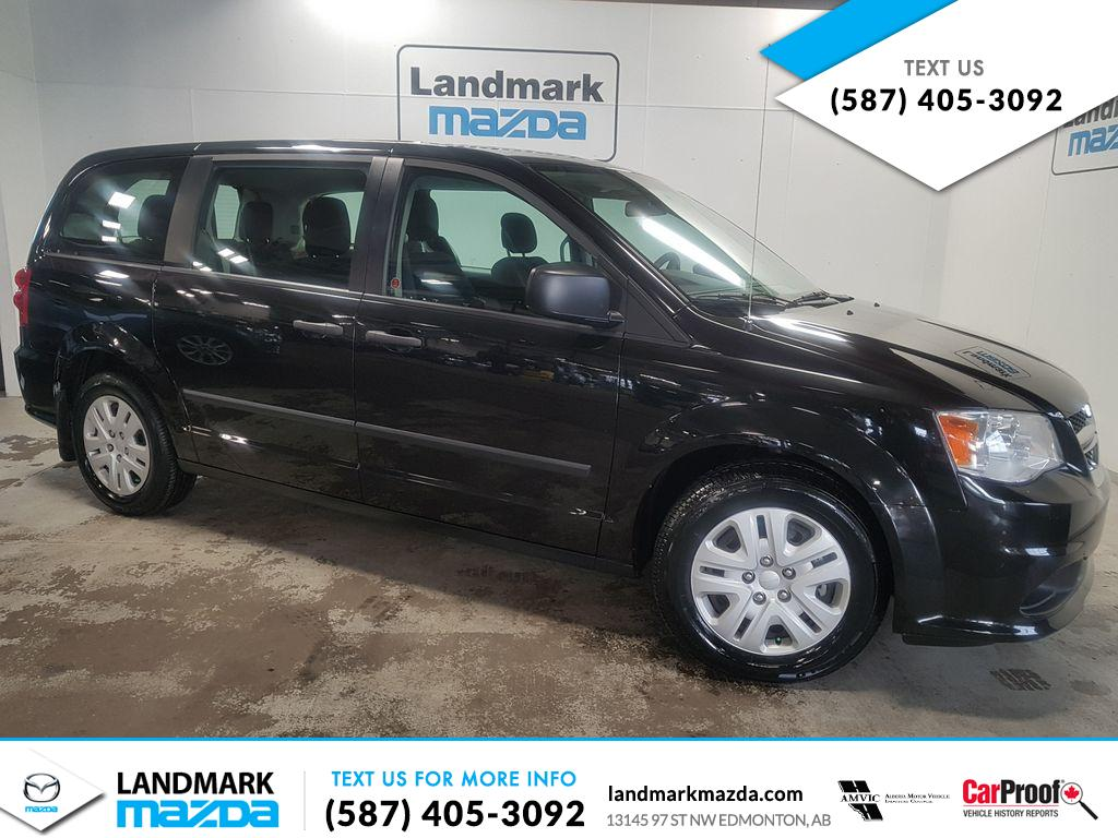 Used 2015 Dodge Grand Caravan Canadian Value Package FWD - Save $2,107