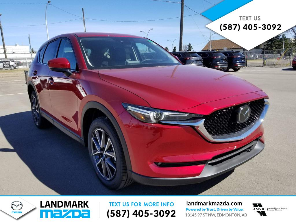 New 2018 Mazda CX-5 GT With Navigation & AWD