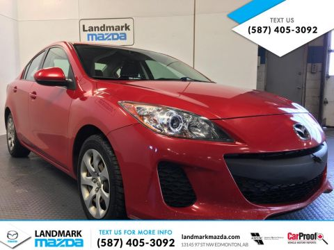 Pre-Owned 2012 Mazda3 GX FWD 4 Door Car